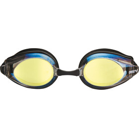 arena Tracks Mirror Goggles gold-black-black